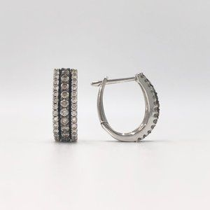 Le Vian 14K White Gold Chocolate Diamond Earrings
